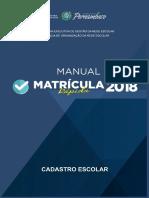 Manual Para Cadastro Escolar_2018