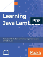 Learning Java Lambdas