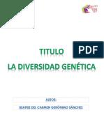 Beatriz Del Carmen Geronimo Sanchez M16S3 Ladiversidad