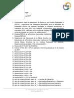 Resolución N° 14 2017-2/JF-F