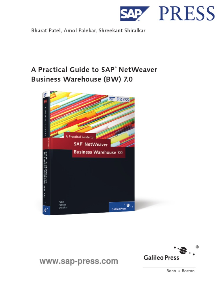 Practical Guide to SAP NetWeaver BW 7 0 -- Sample | Business Intelligence |  Sales