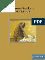 Detritus - Samuel Beckett.pdf
