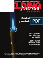 La Revista de La Sociedad Americana de Soldadura-Aws en Español Enero 2012 Invierno.soldadura Blanda y Fuerte.