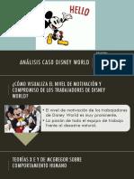 Análisis Caso Disney World