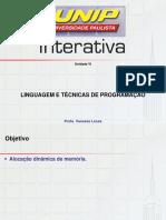 Breve Histórico  LINGUAGEM E TECNICAS DE PROGRAMAÇÃO