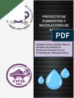 Proyecto de Suministro y Recoleccion de Agua