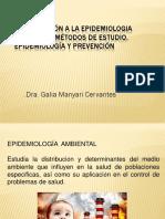 Introducción a La Epidemiologia Ambiental