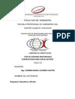 Alfredo Paquiyauri Ingenieria Civil Producto 01 Del Proyecto UPS2015
