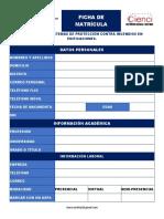 Ficha - Sistemas de Proteción Contra Incendios en Edificaciones