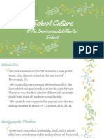 school culture  the environmental charter school