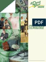 Stewardship QSG