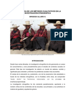 Métodos Cualitativos e Investigación Género-Etnográfica
