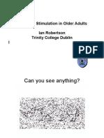 Estimulacion cognitiva en adultos mayores