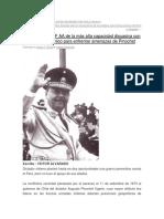 Historia de Una Conflictiva Vecindad Con Chile
