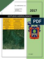 Proyecto de Hidrologia