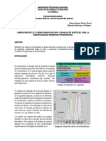 Practica de Labortorio Cromatografia en Papel y Longitud de Onda