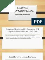 professional organizations