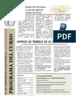 Guía de Laboratorio FS-0311 Laboratorio de Física II