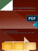 Revolución Industrial Británica
