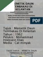 'Memetik Daun Tembakau Di Kelantan' - Hossein Enas
