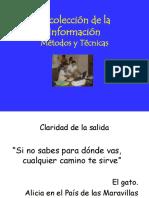 Metodos Para Recabar Informacion