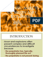13 - Arson and Explosives