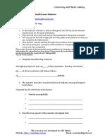 OET Exam - Task 1 Aboriginal Health Issues-Diabetes