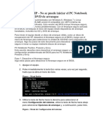 PC Notebook HP Arranque