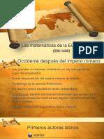 Las Matematicas de La Europa Medieval