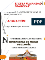 2. Sesión. Petrología Ígnea