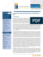 Informe Piev Postelectoral 15O