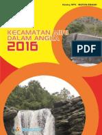 Kecamatan Miri Dalam Angka 2016