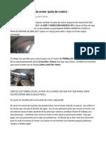 Cambio de Soporte de Motor (Pata de Motor)