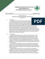 Bukti Evaluasi Terhadap Struktur Organisasi