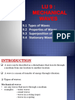 Chapter 9 Mechanical Waves Student