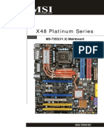 X48 Platinum ]Series_Motherboard MSI