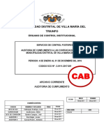 Municipalidad Distrital de Villa Maria Del Triunfo