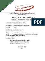 Formalizacion y Continuacion de La i.p