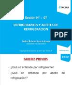 07 - Refrigerantes y Aceites de Refrigeracion