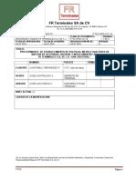 Ftsc-proc-01-16 Procedimiento de Establecimiento de Meta y Objetivos 2016
