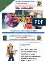 MINERALOGÍA - HALOGENUROS O HALUROS