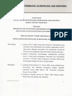 Peraturan KBMKG Kep 007 Tahun 2010 Tentang Penyiapan Dan Penyebaran TAF