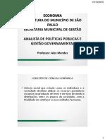 3917 Sao Paulo Sp Prefe Munic Econo Anali de Polit Publi e Gesta Gover Sao Paulo Sp Prefe Munic Super Completo