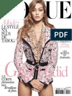 Vogue Paris 2016 Mars