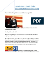 Mangala's Mangala Budget – Part 2  Go for reforms but permanently fix the country's rising debt prob.docx