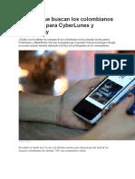 Rebajas Que Buscan Los Colombianos en Google Para CyberLunes y BlackFriday