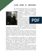 Rockefeller John d