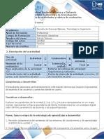 Guía de Actividades y Rubrica de Evaluación - Ciclo de La Tarea 3 Dibujo de Conjuntos
