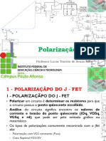 14 - Disp Eletrônico - IfBA - Transistor - Polarização FET
