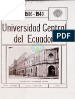 Universidad Central Del Ecuador 1586 - 1949